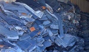 Wholesale Jeans Baled Clothing
